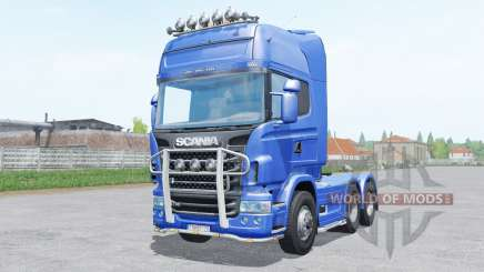 Scania R730 Topline 6x4.2 para Farming Simulator 2017
