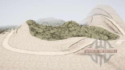 As dunas para MudRunner
