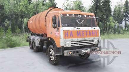 KamAZ-53215 KO 505Б para Spin Tires