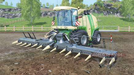 Krone BiG X 1100 black cutters para Farming Simulator 2015