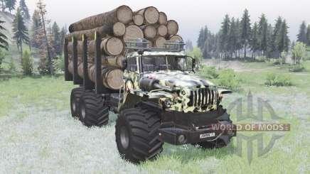 VTS de Ural-Polyarnik Exército para Spin Tires