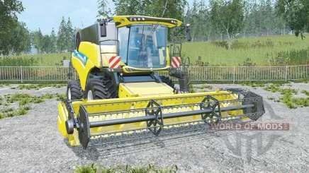 New Holland CR6.90 low compaction tires para Farming Simulator 2015
