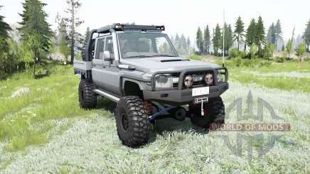 Toyota Land Cruiser Double cab chassis J79 2012 para MudRunner
