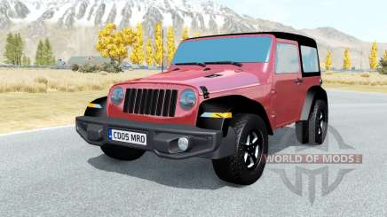Jeep Wrangler Rubicon (JL) 2018 para BeamNG Drive
