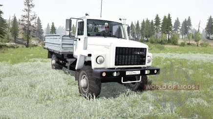 GÁS-SAZ-2506 2009 para MudRunner