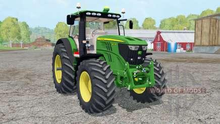 A John Deere 6210Ɽ para Farming Simulator 2015