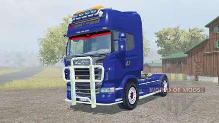 Scania R560 Topline pigment blue para Farming Simulator 2013