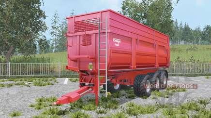 Krampe Big Body 900 S increased capacity para Farming Simulator 2015