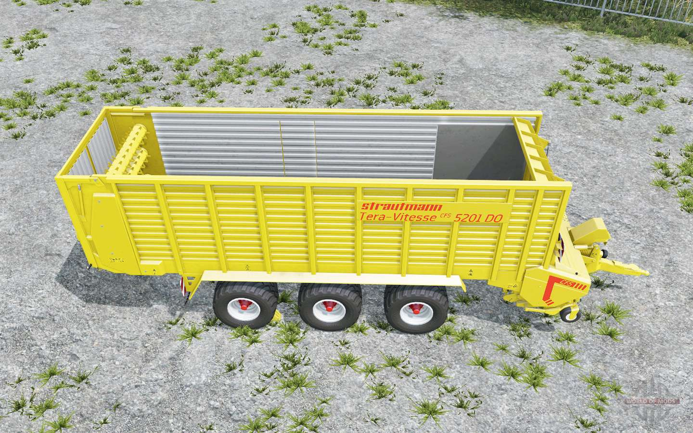 Strautmann Tera-Vitesse CFS three color options para Farming
