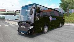 Scania Touring K410 black para Euro Truck Simulator 2