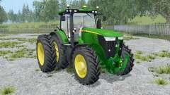 John Deere 7310R front loader para Farming Simulator 2015