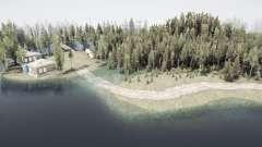 Floresta inundada 3 para MudRunner