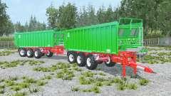 Kroger Agroliner TAW 30 convoy para Farming Simulator 2015