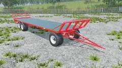 Fliegl DPW 180 longer drawbar para Farming Simulator 2015