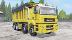 KamAZ-65201 com o trailer para Farming Simulator 2017