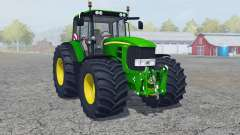 John Deere 7430 Premium manual ignition para Farming Simulator 2013