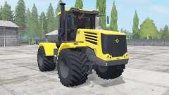 Kirovets K-744Р4 cor amarela para Farming Simulator 2017