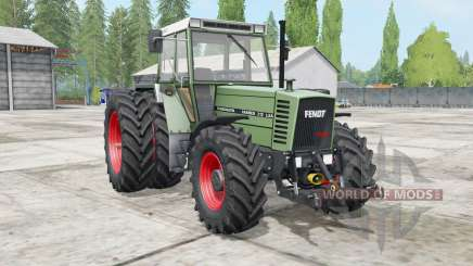Fendt Farmer 300 LSA Turbomatik wheels selection para Farming Simulator 2017