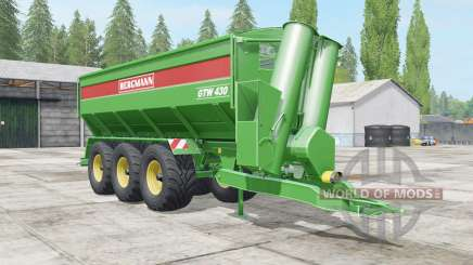 Bergmann GTW 430 all loaded para Farming Simulator 2017