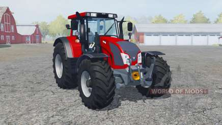 Valtra N163 rosso corsa para Farming Simulator 2013