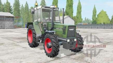 Fendt Favorit 600 LS Turbomatik glade green para Farming Simulator 2017