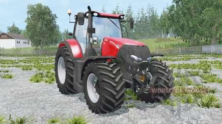 Case IH Optum 300 CVX light brilliant red para Farming Simulator 2015