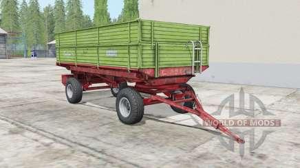 Krone Emsland olivine para Farming Simulator 2017