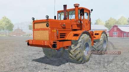 Kirovets K-700A cor laranja brilhante para Farming Simulator 2013