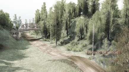 Forest Race para MudRunner