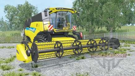 New Holland CR9.90 black & yellow rims para Farming Simulator 2015