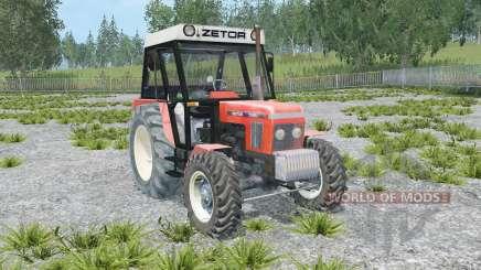 Zetor 7245 front loader para Farming Simulator 2015