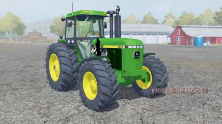 A John Deere 4455 frente loadeᶉ para Farming Simulator 2013