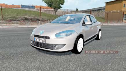 Renault Fluence 2012 v1.3 para Euro Truck Simulator 2