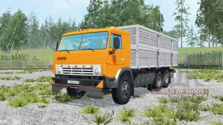 KamAZ-53212 & trailer GKB-8350 para Farming Simulator 2015