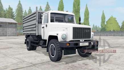 GAZ-SAZ-35071 cor branca para Farming Simulator 2017