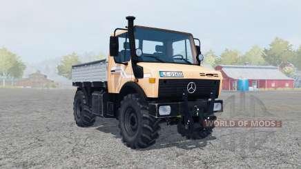A Mercedes-Benz Unimog U1450 (Bᶉ.427) para Farming Simulator 2013