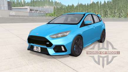 Ford Focus RS (DYB) 2016 para BeamNG Drive