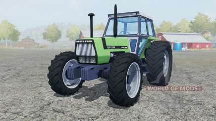 Deutz-Fahr AX 4.120 added wheels para Farming Simulator 2013