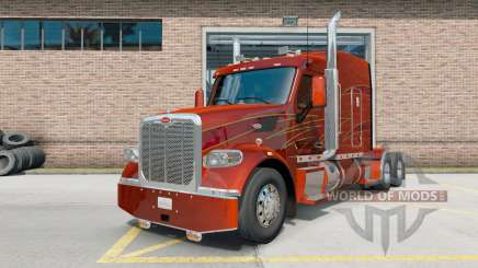 Peterbilt 567 Ultra Cab Sleepeᶉ para American Truck Simulator