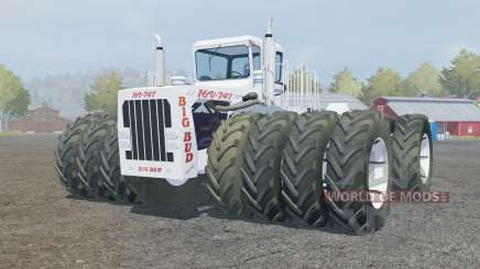Big Bud 16V-747 extra wheels para Farming Simulator 2013