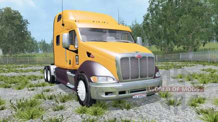 Peterbilt 387 dirty para Farming Simulator 2015