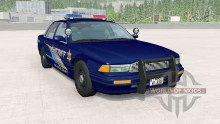 Gavril Grand Marshall Belasco Country Sheriff para BeamNG Drive