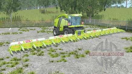 Krone BiG X 1100 june bud para Farming Simulator 2015