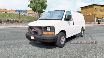 GMC Savana Van 2002 para Euro Truck Simulator 2