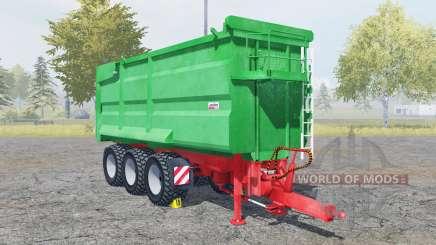 Kroger Agroliner MUK 402 munsell green para Farming Simulator 2013