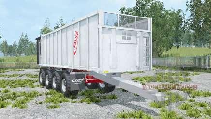 Fliegl Gigant ASW 4-axles para Farming Simulator 2015