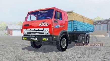 KamAZ-53212 de cor vermelho brilhante para Farming Simulator 2013