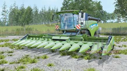 New Holland CR10.90 three cutters para Farming Simulator 2015