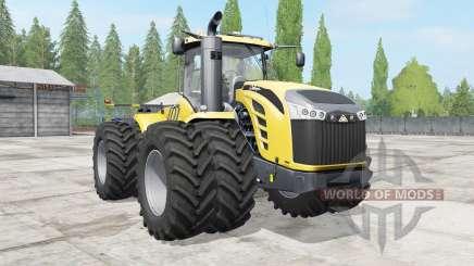 Challenger MT900E wheels options para Farming Simulator 2017
