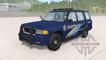 Gavril Roamer Belasco Country Sheriff v1.2 para BeamNG Drive